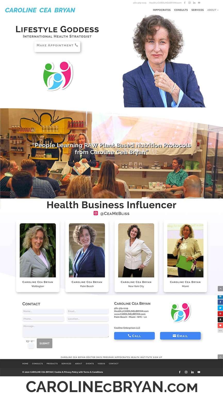 LIVETweb Website Thumb Portfolio CEA